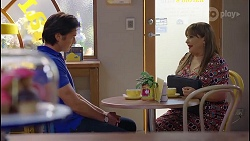 Leo Tanaka, Terese Willis in Neighbours Episode 8062