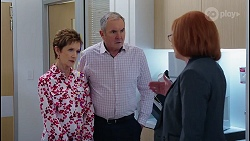 Susan Kennedy, Karl Kennedy, Beverly Marshall in Neighbours Episode 8062