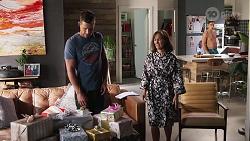 Mark Brennan, Fay Brennan, Aaron Brennan in Neighbours Episode 8063