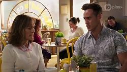 Fay Brennan, Aaron Brennan in Neighbours Episode 8063