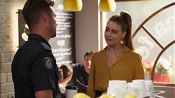 Mark Brennan, Chloe Brennan in Neighbours Episode 8063
