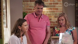 Amy Williams, Gary Canning, Sheila Canning in Neighbours Episode 8064