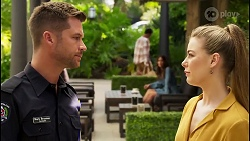 Mark Brennan, Chloe Brennan in Neighbours Episode 8064