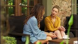 Elly Brennan, Chloe Brennan in Neighbours Episode 8064