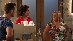Aaron Brennan, Dipi Rebecchi, Sheila Canning in Neighbours Episode 8064