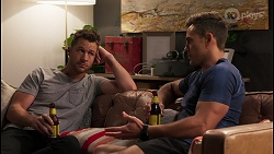 Mark Brennan, Aaron Brennan in Neighbours Episode 8064