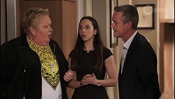 Vera Punt, Imogen Willis, Paul Robinson in Neighbours Episode 8066
