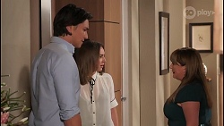 Leo Tanaka, Piper Willis, Terese Willis in Neighbours Episode 8066