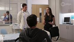 Shaun Watkins, Finn Kelly, Imogen Willis in Neighbours Episode 8067