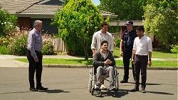 Karl Kennedy, Finn Kelly, Shaun Watkins, David Tanaka in Neighbours Episode 8067
