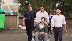 Shaun Watkins, Finn Kelly, David Tanaka in Neighbours Episode 8067