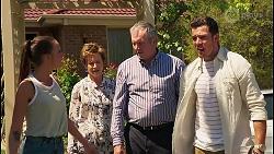 Bea Nilsson, Susan Kennedy, Karl Kennedy, Shaun Watkins in Neighbours Episode 8068