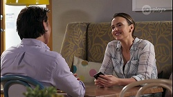 Leo Tanaka, Amy Williams in Neighbours Episode 8068