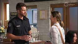 Mark Brennan, Amy Williams in Neighbours Episode 8068