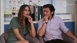 Elly Conway, Leo Tanaka in Neighbours Episode 8068