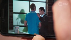 Gary Canning, Paul Robinson in Neighbours Episode 8069