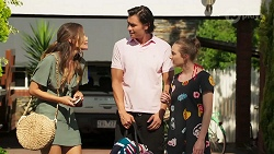 Elly Brennan, Leo Tanaka, Piper Willis in Neighbours Episode 8069
