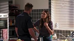 Mark Brennan, Elly Brennan in Neighbours Episode 8070