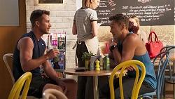 Mark Brennan, Aaron Brennan in Neighbours Episode 8070