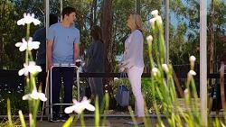Finn Kelly, Claudia Watkins in Neighbours Episode 8071