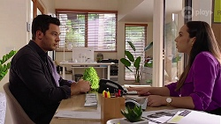 Shaun Watkins, Imogen Willis in Neighbours Episode 8071