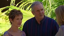 Susan Kennedy, Karl Kennedy, Claudia Watkins in Neighbours Episode 8071