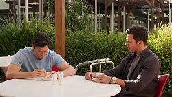 Finn Kelly, Shaun Watkins in Neighbours Episode 8072