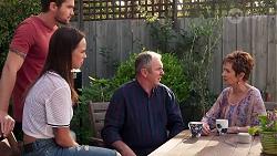 Ned Willis, Bea Nilsson, Karl Kennedy, Susan Kennedy in Neighbours Episode 8072