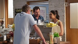 Gary Canning, Shane Rebecchi, Dipi Rebecchi in Neighbours Episode 8072