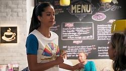 Yashvi Rebecchi, Amy Williams in Neighbours Episode 8072