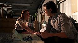 Piper Willis, Leo Tanaka in Neighbours Episode 8073