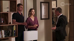 Gary Canning, Amy Williams, Paul Robinson in Neighbours Episode 8073