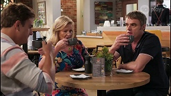 Kyle Canning, Sheila Canning, Gary Canning in Neighbours Episode 8073
