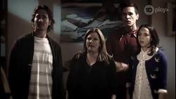 Brad Willis, Terese Willis, Josh Willis, Imogen Willis in Neighbours Episode 8073