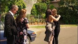 Paul Robinson, Terese Willis, Imogen Willis, Piper Willis in Neighbours Episode 8073