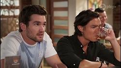 Ned Willis, Leo Tanaka in Neighbours Episode 8073