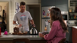 Mark Brennan, Elly Brennan in Neighbours Episode 8074