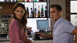 Elly Brennan, Aaron Brennan in Neighbours Episode 8074