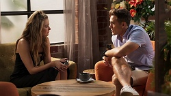 Chloe Brennan, Aaron Brennan in Neighbours Episode 8074