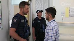 Mark Brennan, David Tanaka in Neighbours Episode 8075