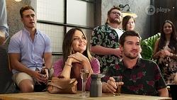 Aaron Brennan, Elly Brennan, Ned Willis in Neighbours Episode 8075
