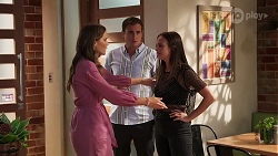 Elly Brennan, Kyle Canning, Bea Nilsson in Neighbours Episode 8075