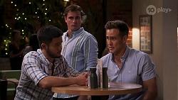 David Tanaka, Kyle Canning, Aaron Brennan in Neighbours Episode 8075