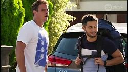 Kyle Canning, David Tanaka in Neighbours Episode 8076