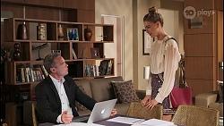 Paul Robinson, Chloe Brennan in Neighbours Episode 8076