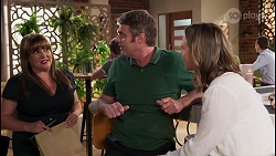 Terese Willis, Gary Canning, Amy Williams in Neighbours Episode 8076
