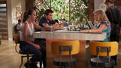 Bea Nilsson, Ned Willis, Sheila Canning in Neighbours Episode 8077