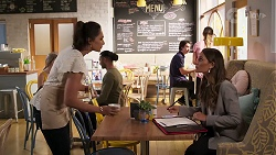Dipi Rebecchi, Elly Conway in Neighbours Episode 8077