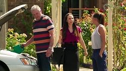 Karl Kennedy, Imogen Willis, Bea Nilsson in Neighbours Episode 8077
