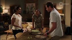 Dipi Rebecchi, Yashvi Rebecchi, Shane Rebecchi in Neighbours Episode 8078